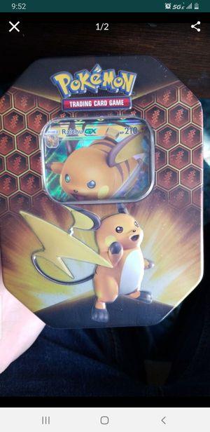 Pokemon hidden fates tin brand new sealed for Sale in Hanover Park, IL