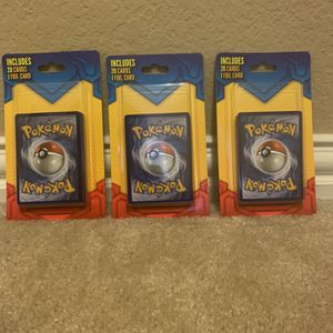 Pokémon 20 Cards + 1 Foil Pack (3 Packs) for Sale in Plano, TX