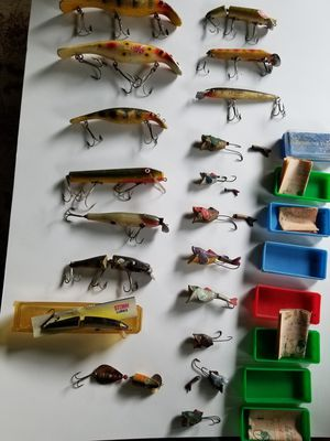 Vintage fishing lures for Sale in McKees Rocks, PA