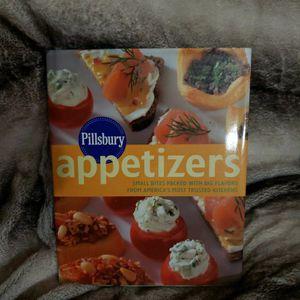 Pillsbury Appetizers Cookbook for Sale in Santa Rosa Beach, FL
