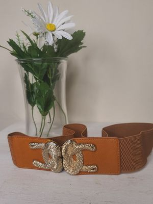 Womens Waist Belt with Gold Details for Sale in Youngsville, LA