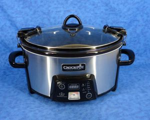 CROCK POT SCCPCTS605-S-A 6 Qt Programmable Slow Cooker for Sale in Sugar Land, TX