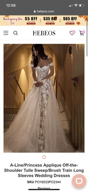 Wedding Dress from Hebeo's for Sale in Aurora, OH