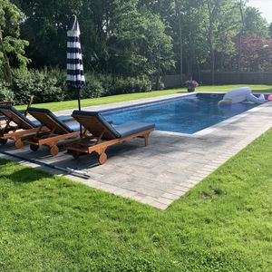 I can show you many pool designs and you decide which one you like for Sale in Centereach, NY