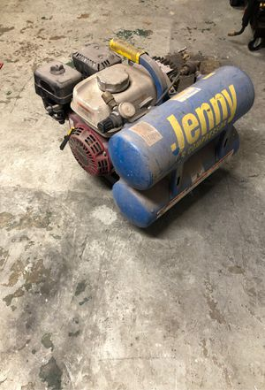 2014 Jenny air compressor gas powered for Sale in Royersford, PA