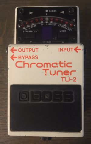 Boss TU-2 Chromatic Tuner w/ Original Box and Owner's Manual for Sale in San Diego, CA