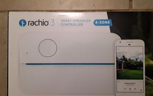 Rachio 3 Smart Sprinkler Controller 8-zone (NEW) for Sale in Richardson, TX