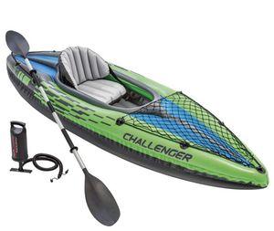 NEW Intex K1 Kayak w/ Oars, Pump for Sale in Ontario, CA