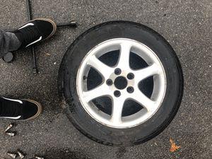 """15"""" Volvo stock rims/ michellin tires for Sale in Saugus, MA"""
