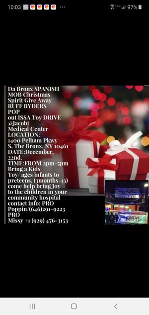 Please help bring joy to Jacoby medical center for their children for Sale in The Bronx, NY