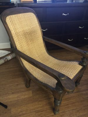 Gorgeous Plantation Wicker Wooden chair for Sale in Miami, FL