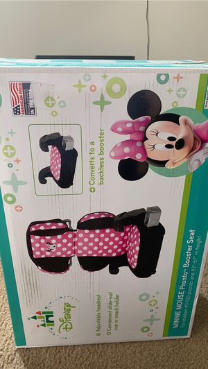 Minnie Mouse pronto booster seat for Sale in Chicago, IL