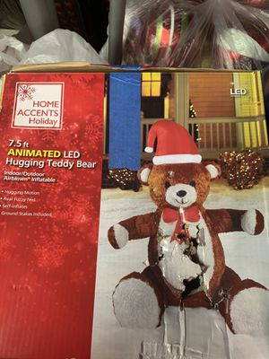 Inflatable LED Teddy Bear for Sale in Cornelius, OR