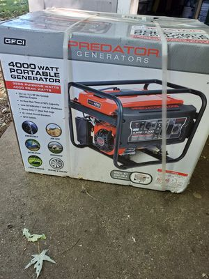 Generater Predator 4000 for Sale in Harrisburg, PA