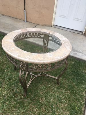 Circular Marble Table for Sale in San Diego, CA