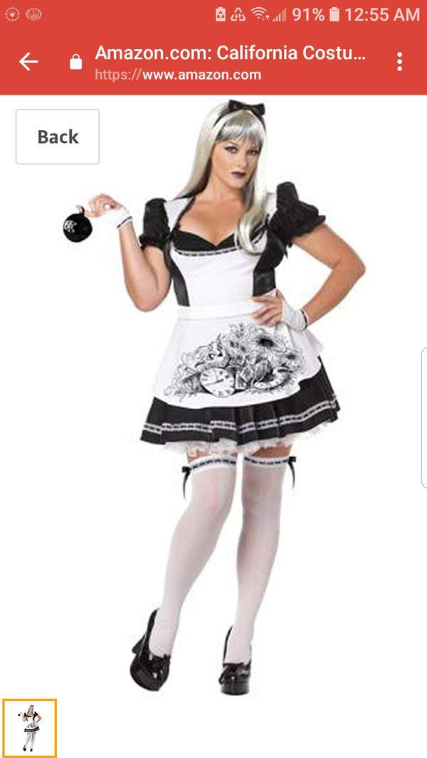 Dark Alice Halloween Costume 3X