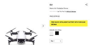 Mavic Air Foldable Drone for Sale in New York, NY