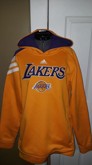 Lakers Adidas sweater large youth for Sale in Los Angeles, CA