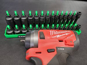 """Milwaukee m12 fuel stubby 1/4"""" impact with socket set for Sale in Ewing Township, NJ"""