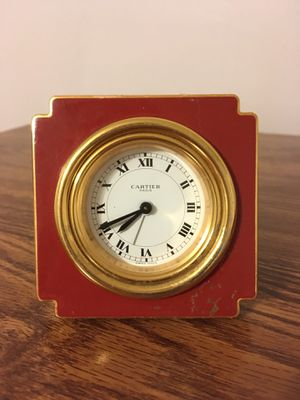 Antique Cartier desk clock early 1980s for Sale in Nashville, TN