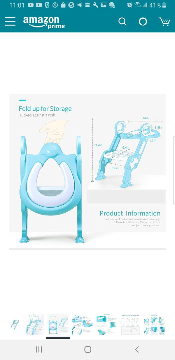 I62 - Kids Potty Ladder Training Seat