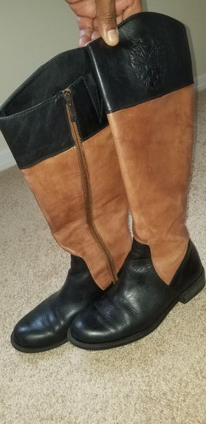 Vince Camuto Leather Boots 8M for Sale in Boynton Beach, FL