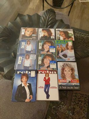 REBA COLLECTION 🌺 7 CDS & 4 DVDS 🌺 ALL NEW NEVER OPENED TAKE ALL FOR ONLY $10 PICK UP FROM LYNWOOD for Sale in Compton, CA