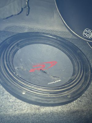 Alpine Fifteen Inch Subwoofer Type R for Sale in Salt Lake City, UT