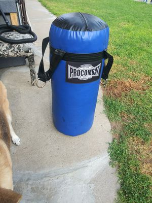 70 lb ProCombat punch bag with new gloves. Never used!!!! W/delivery for Sale in Hawthorne, CA