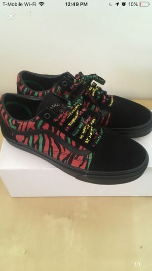 "Vans Old Skool ""A Tribe Called Quest"" sz 9,9.5 for Sale in Monaca, PA"