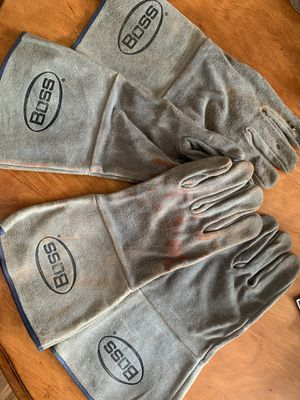 Boss Welder Gloves for Sale in Kankakee, IL