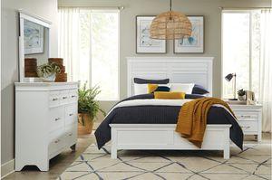 4pc White Bedroom Set for Sale in Dublin, CA