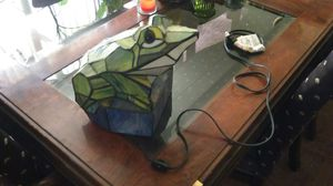 Tiffany style antique frog lamp excellent working conditions great addition to any frog figurine collection. for Sale in Cleveland, OH