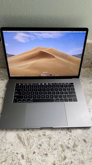 Like New MacBook Pro 15 inch Touchbar with low Battery Cycles and Lots of Extras for Sale in West Covina, CA