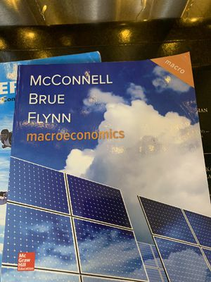 Macroeconomics text book bought used for Sale in Harrisonburg, VA