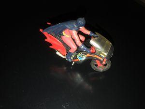DC Comics Batman Bat bike cycle 1978 with Batman Figure for Sale in Brooklyn, NY