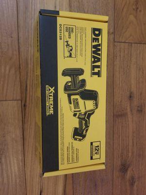 Dewalt one handed reciprocating saw for Sale in Portland, OR