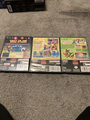 Mario party 4,5,6 $50 Each for Sale in Chicago, IL