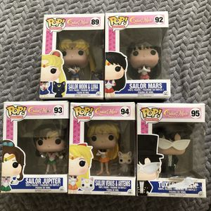 Funko Pop Sailor Moon Collection for Sale in Westminster, CA