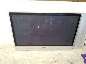 "50"" Panasonic Viera Plasma tv - $75obo for Sale in Clermont, FL"