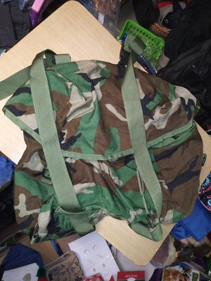 Duffle bag book bag tactical backpack for Sale in Livonia, MI
