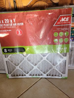 20x20x1 furnace filters for Sale in Mount Airy, MD