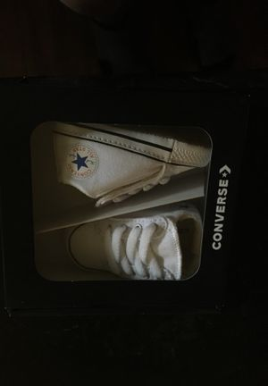 Converse baby shoes brand new for Sale in Tatum, TX