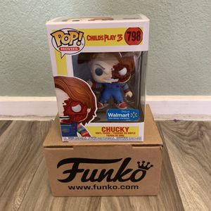 Chucky child's play 3 Funko Pop Toy Figure #798 for Sale in Modesto, CA