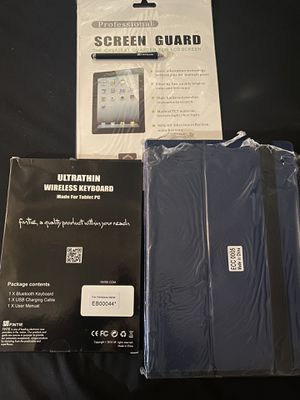 Microsoft Surface Pro Fintie Case and Screen Protector w/ Stylus for Sale in Paramount, CA