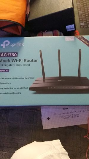 Brand new never used TP mesh Wi-Fi router for Sale in Tacoma, WA