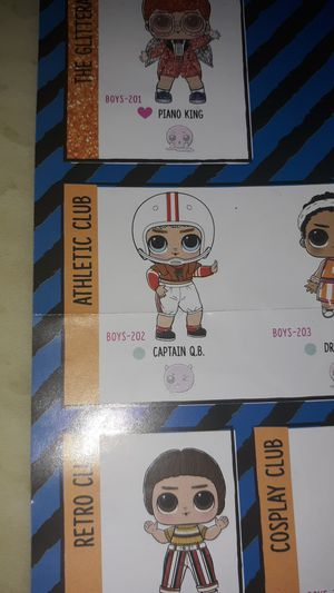 Lol surprise boy doll Captain QB NEW for Sale in Cullowhee, NC