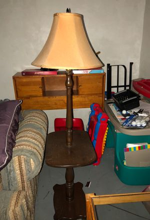 Antique floor lamp for Sale in Wyandotte, MI