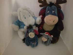 Eeyore Christmas Plush lot for Sale in Tacoma, WA