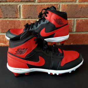 Nike Air Jordan 1 Retro Bread cleats size 11 AR5604-061 for Sale in Augusta, GA